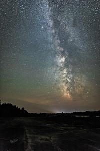 Night Sky, Irvine Lake Air Strip, August 21, 2017, Canon 6D, 25 sec, F1.4, ISO 1600