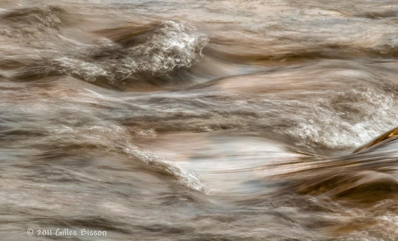 Water - slow shutter speed, April 8 2011