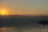 Balsam Lake sunrise, August 13, 2008