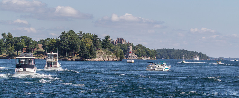 Thousand Islands waterway, September 1 2012