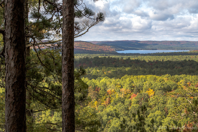 Lookout trail in Algonquin Park, September 25 2012