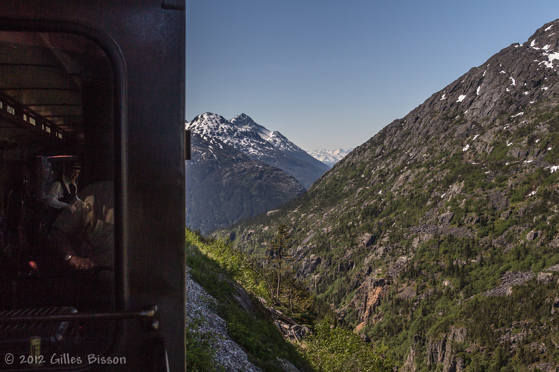 White Pass train, Yukon, June 23 2012
