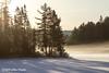Sunrise on Costello lake, March 09 2013, Algonquin Park