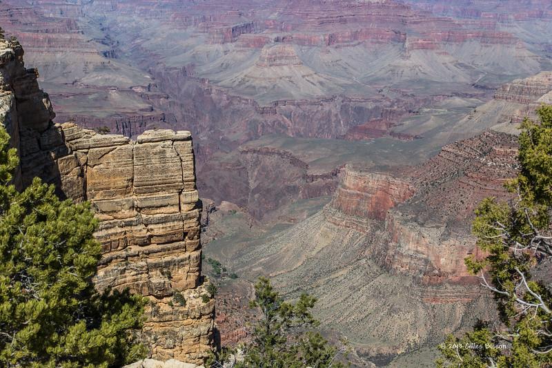 Grand Canyon, South Rim, Arizona, April 05 2013, #0842