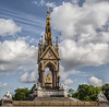 Statue of Prince Albert, Londo, England, June 28, 2014