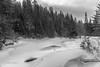 Snowscape,B&W conversion, Algonquin Park,Madawaska River, March 07 2015, Canon 6D, 1/100,F7.1,ISO 125