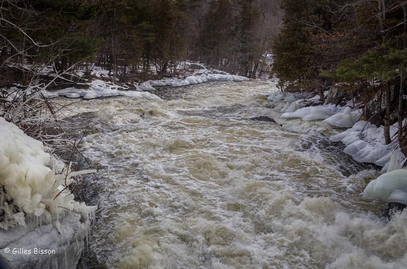 Cordova Lake Dam, Crowe Valley Conservation Area, February 06 2016, Canon 6D, 1/125 sec, F8, ISO 400