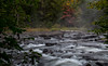 Tea Lake Dam rapids, Alrongquin Park, Sept 28, 2016, Canon 6D, .04 sec, F16, ISO 50