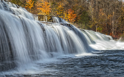 Healey Falls, Campebellford, October 21, 2017, Canon 6d, 82mm, 1/4 sec, f16, ISO 50