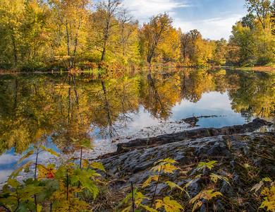 Skootamatta River, October 09, 2018, Canon 7D, Mark II, 1/8 sec, F16, ISO 100