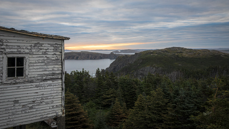 Early morning at Crow Head, Newfoundland, August 28, 2019, 1/4 sec, F20, ISO 50