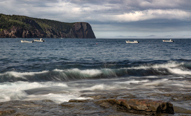 Flat Rock, Newfoundland,August 23, 2019, Canon EOS R, .3sec, F14, ISO 50