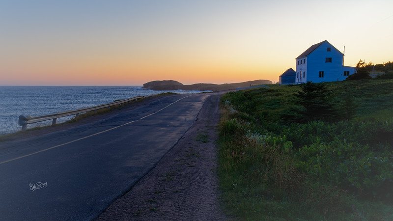 Sunrise in Elliston, Newfoundland, August 25, 2019, Canon EOS R, 1/30, F13, ISO 320