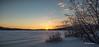 Winter sunrise, Algonquin Park, March 4 2016, Canon 6D, 24-105mm, 1/6sec, F20, ISO 50