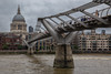 Millennium bridge, London, England, June 11 2014