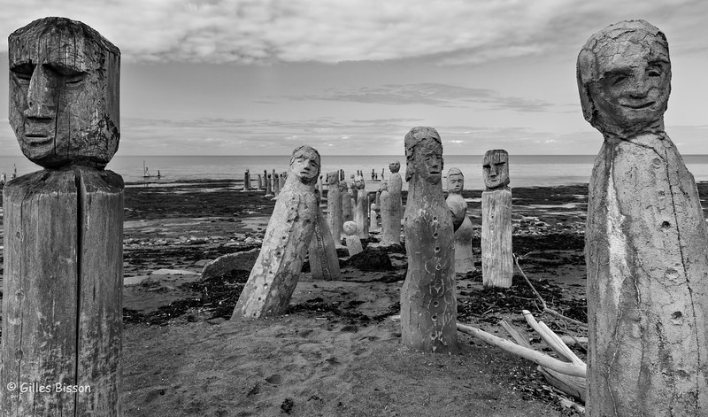 Artwork by Marcel Gagnon at his riverside inn and gallery in Saint Flavie, Gaspe Peninsula, Quebec, September 02,,2016, Canon 6D, 24mm, 1/125, F14,,ISO 500
