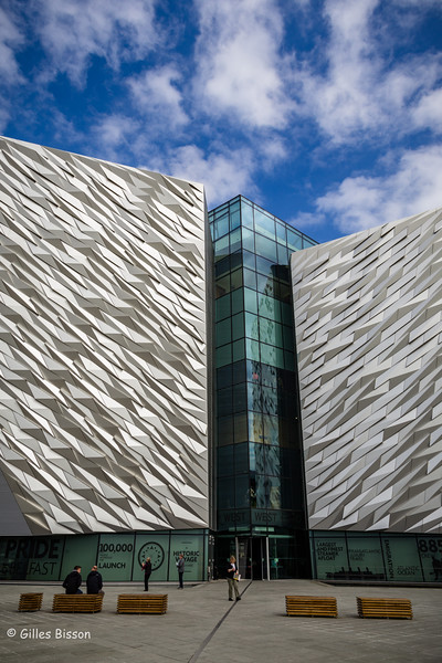 Titanic Exhibition Centre, Belfast], Ireland, May 16, 2016, Canon 6D, 1/160, F13, ISO 125