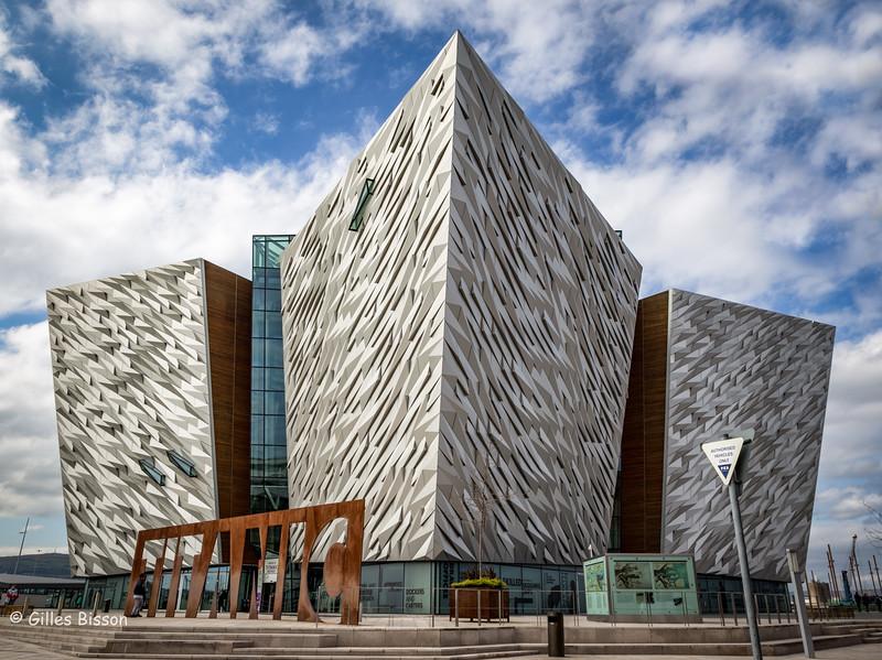 Titanic Exhibition Centre, Belfast, Ireland, May 16, 2016, Canon 6D, 1/100, F13, ISO 250