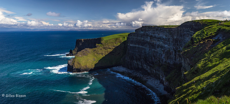 Cliffs of Moher, Ireland, May 22 2016, Canon 6D, 24-105mm, 1/250, F13, ISO 400,