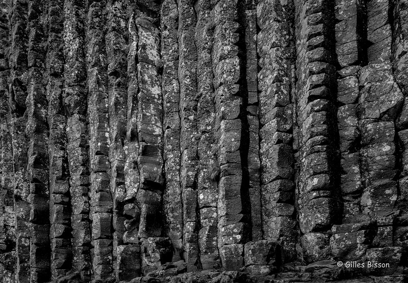 Giant's Causeway, Black & White, Northern Ireland, May 17, 2016, Canon 6D, 24-105mm,1/60, F13, ISO 400