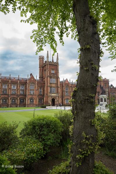 Queen's University, Belfast, Northern Ireland, May 16, 2016