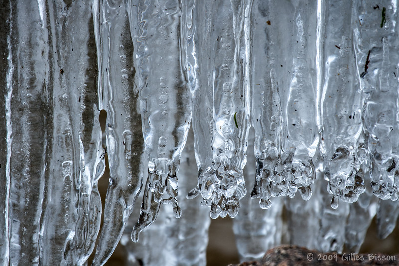 Ice Formation, May 17 2009, Remi Lake