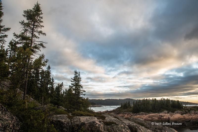 St-Lawrence Sunrise,Sept 4 2013, #6174,Canon 6D-24-105mm-.8Sec-F22-ISO50-LR5