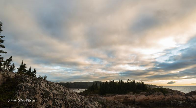 St-Lawrence Sunrise,Sept 4 2013, #6193,Canon 6D-24-105mm-.5Sec-F18-ISO50-LR5