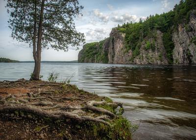 Bon Echo Provincial Park, June 09, 2018, Canon 6D, 24-105mm, 1/5 sec, F16, ISO 50