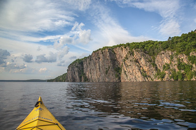 Mazina Rock, Mazina Lake, Bon Echo Provincial Park, August 2, 2018, Canon 6D,  24-105mm, 1/250, F9.0, ISO 160