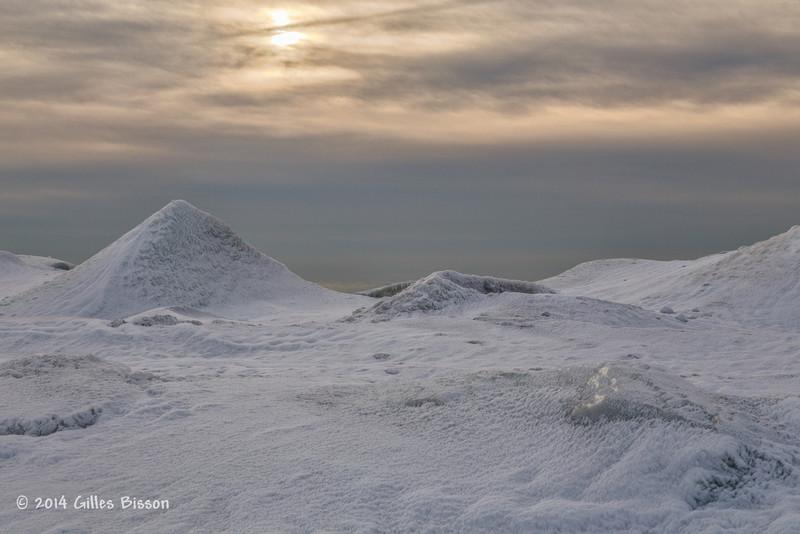Ice Formation, Presqu'ile Provincial Park, #9898,Feb 1 2014, Canon 6D 1/160 F10 ISO250