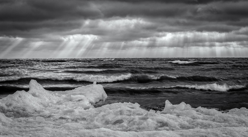 Icy Shoreline at Presqu'ile