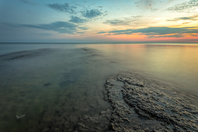 Sunset at Point Petre, Prince Edward County, Canon 6D, Sigma 20mm, 30 sec, F14, ISO 50