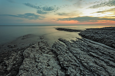 Sunset at Point Petre, Prince Edward County, September 19, 2017, Canon 6D, Sigma 20mm, 25 sec, F13 ISO 50