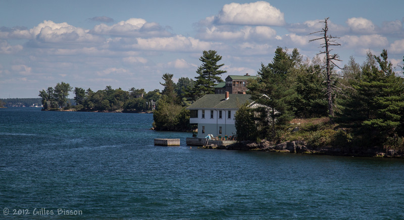 Thousand Islands waterway, September 1 2012