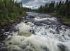 Ljungan River, Arsana, Jamtland, Northern Sweden, July 31, 2017, Canon 6D, 1.0 sec, F20, ISO 50