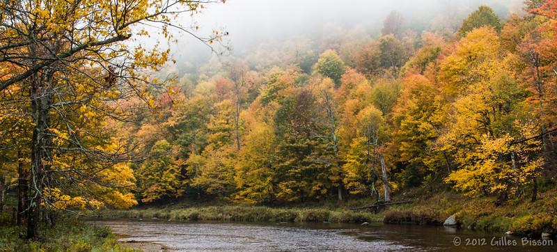 Landscape, October 03 2012, Close to Lake Placid,  Highway 86 New York,