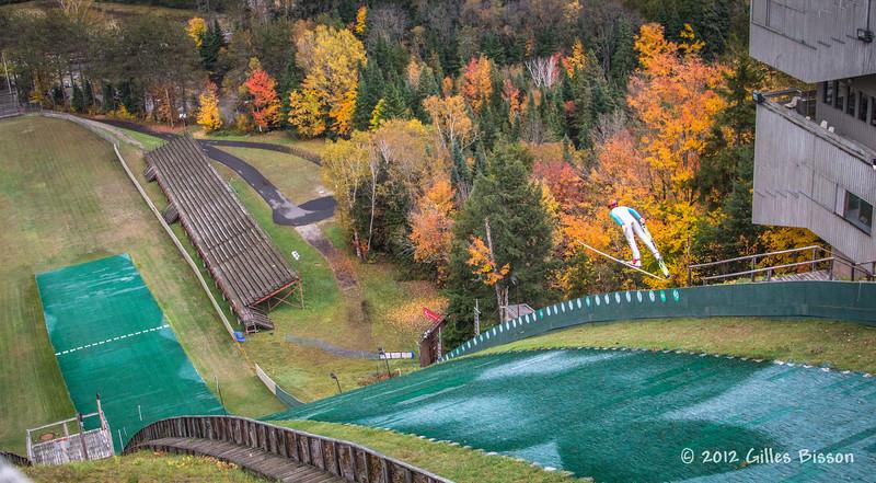 Ski Jumper, Lake Placid, October 05 2012