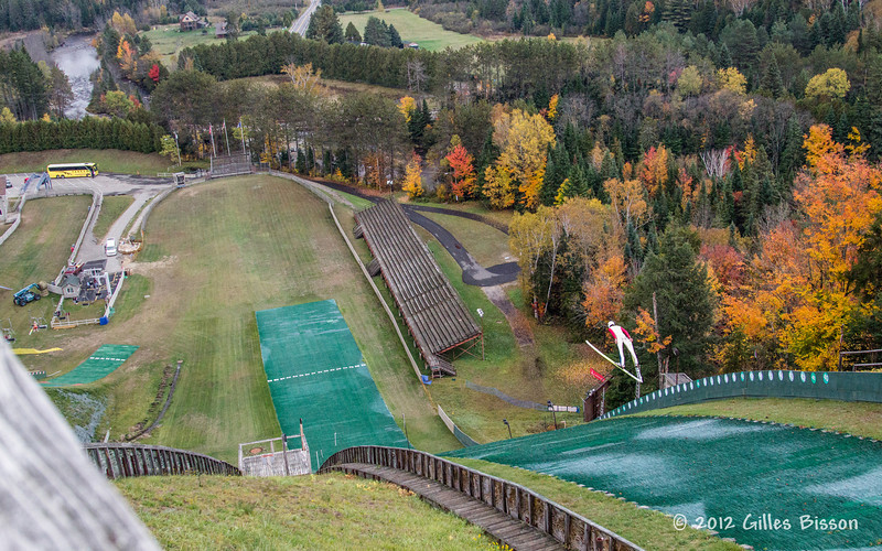 Ski Jumper, Lake Placid, October 05 2012