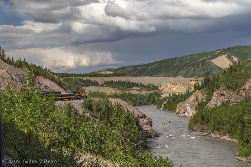 On route to Fairbanks by train, June 18 2012