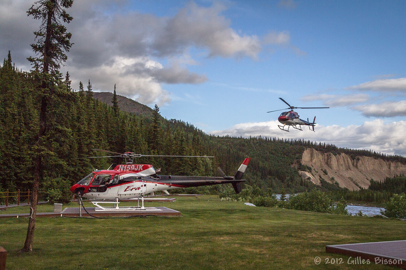 Our ride to a Glacier in Denali National Park, Leaving from Mckinley Alaska, June 17 2012