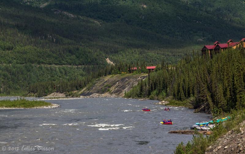 Mickinley Rafting, Alaska, JUne 18 2012
