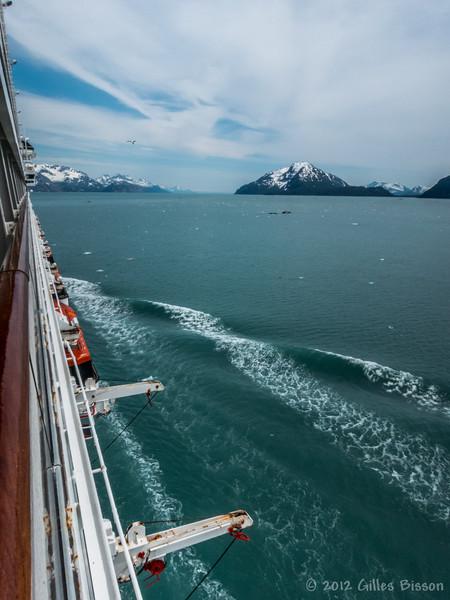Glacier Bay National Park, Alaska, Scene from Cruise Ship, June 24 2012