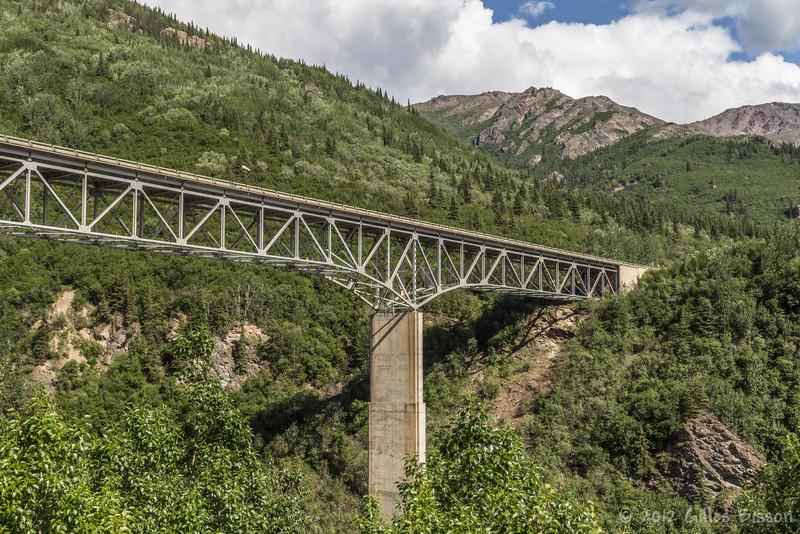 Bridge seen on route to Fairanks