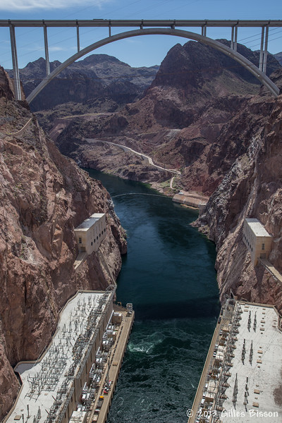 Hoover Dam, Nevada, April 2013 #0355