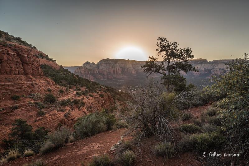 Sedona Sunrise , #3206, March 18 2014, Canon 6D, 1/20  F13 ISO100