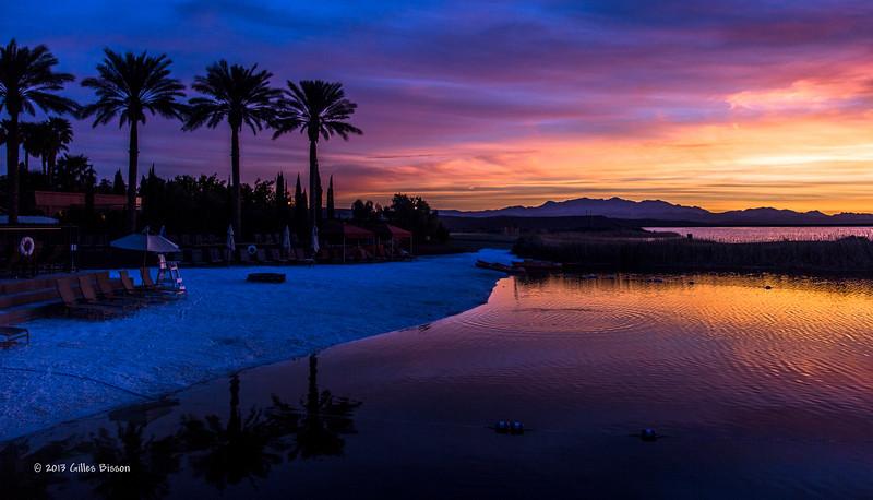 Lake Las Vegas sunrise, April 03 2013, #0411