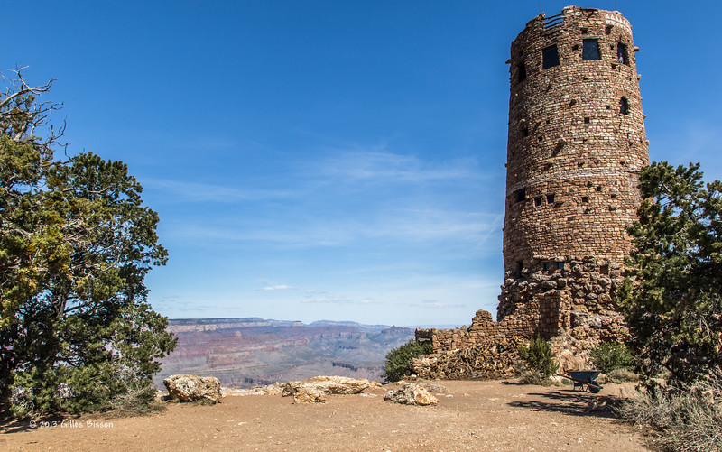 Grand Canyon South Rim, Indian ruins, Arizona, April 06 2013, #1527