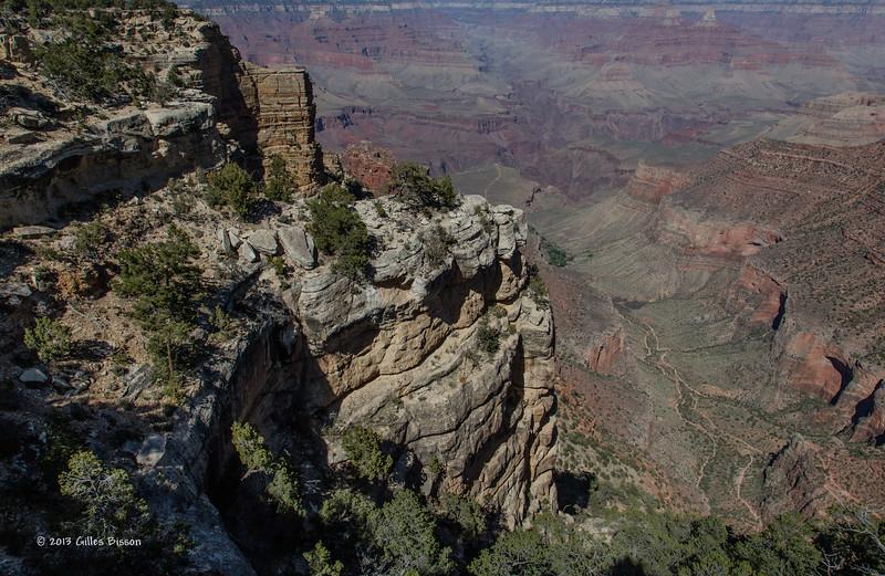 Grand Canyon, South Rim, Arizona, April 05 2013, #0819