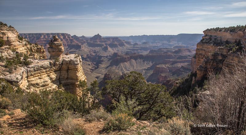 Grand Canyon, South Rim, Arizona, April 06 2013, #1402